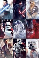 GB Eye Star Wars Poster - Last Jedi Characters (61cm x 91,5cm)