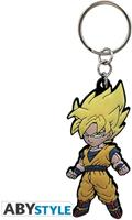 Abystyle Dragon Ball Z - Goku Rubber Keychain