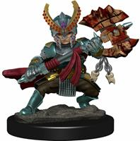 WizKids Dungeons & Dragons Icons of the Realms - Halfling Female Fighter Premium Figure