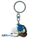 Abystyle Sonic Metal Keychain - Sonic Speed