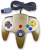 Teknogame Nintendo 64 Controller Goud ()