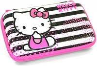 3DS Hello Kitty Striped Carry Case