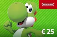 Nintendo tegoed 25 EURO NL (digitaal)