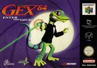 Midway Gex 64 Enter the Gecko