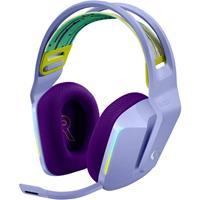 logitechgaming Logitech Gaming G733 LIGHTSPEED Gaming headset Radiografisch 2.4 GHz Draadloos, Stereo On Ear Lila