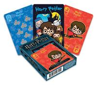 Aquarius Harry Potter Playing Cards Chibi