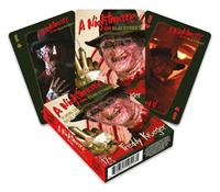 Aquarius Nightmare on Elm Street Playing Cards Freddy