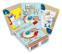 Aquarius Ren & Stimpy Playing Cards Cartoon