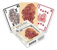 Aquarius Harry Potter Playing Cards Gryffindor