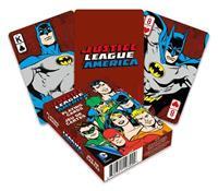Aquarius DC Comics Playing Cards Retro Justice League