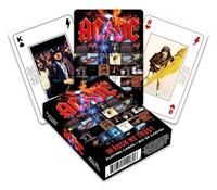 Aquarius AC/DC Playing Cards In Rock We Trust