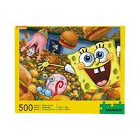 Aquarius SpongeBob Jigsaw Puzzle Krabby Patties (500 pieces)