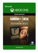 Microsoft RAINBOW SIX SIEGE - 600 CRÉDITS, Xbox One. Platform: Xbox One