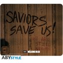 The Walking Dead - Saviors Save Us Mouse Mat