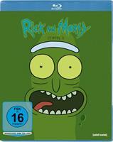 Rick and Morty. Staffel.3, 1 Blu-ray