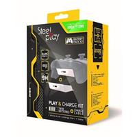 steelplay Xbox One Play & Charge Kit White