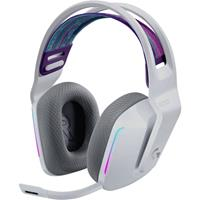 logitechgaming Logitech Gaming G733 LIGHTSPEED Gaming headset Radiografisch 2.4 GHz Draadloos, Stereo On Ear Wit