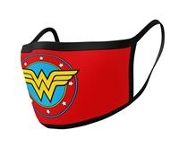 Pyramid International Wonder Woman Face Masks 2-Pack Logo