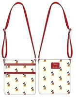 Loungefly Disney by  Passport Bag Mickey AOP heo Exclusive