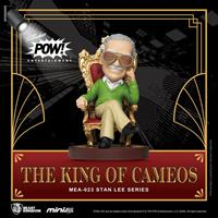 Beast Kingdom Toys Stan Lee Mini Egg Attack Action Figure Stan Lee The King of Cameos 8 cm