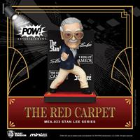 Beast Kingdom Toys Stan Lee Mini Egg Attack Action Figure Stan Lee The Red Carpet 8 cm