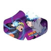 POPbuddies Naruto Face Mask Naruto Vs Sasuke