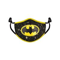 Difuzed Batman Face Mask Bat Logo
