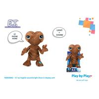 Play by Play E.T. the Extra-Terrestrial Plush Figure with Sound & Light E.T. 25 cm *English Version*