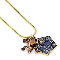 Carat Shop, The Harry Potter Pendant & Necklace Chocolate frog (gold plated)