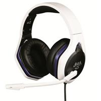 Konix HYPERION HEADSET PS5 Headset 3.5 mm jackplug Kabelgebonden On Ear Zwart/wit