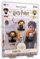PMI Harry Potter Stamps 3-Packs Wizarding World 4 cm
