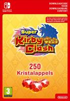 Nintendo Super Kirby Clash 250 Gem Apples