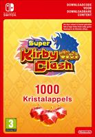Nintendo Super Kirby Clash 1000 Gem Apples