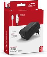 Speedlink FUZE Oplader + USB Kabel