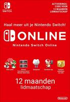 Nintendo 365 Days Switch Online Membership (Individual)