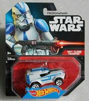 Hotwheels Hot Wheels Star Wars 501st Clone Trooper Character Car