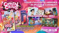 Nicalis Crystal Crisis Launch Edition