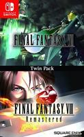 Square Enix Final Fantasy VII & Final Fantasy VIII Twin Pack