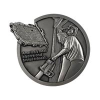 FaNaTtik Texas Chainsaw Massacre Medallion Logo Limited Edition
