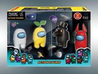 Among Us Action Figures 4-Pack Crewmates 12 cm