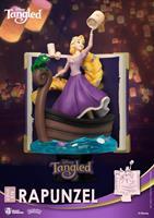 Beast Kingdom Toys Disney Story Book Series D-Stage PVC Diorama Rapunzel New Version 15 cm