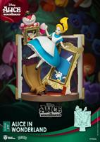 Beast Kingdom Toys Disney Story Book Series D-Stage PVC Diorama Alice in Wonderland 15 cm