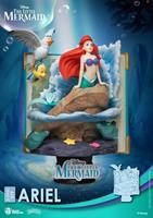 Beast Kingdom Toys Disney Story Book Series D-Stage PVC Diorama Ariel 15 cm
