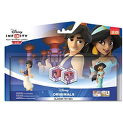 Disney - Disney Infinity 2.0 Alladdin Toy Box Set with Aladdin and Jasmine Collectible Figures (1064424)