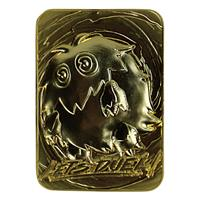 FaNaTtik Yu-Gi-Oh! Replica Card Kuriboh (gold plated)