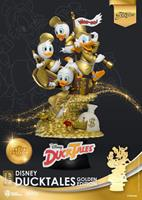 Beast Kingdom Toys Disney Classic Animation Series D-Stage Diorama DuckTales Golden Edition heo EMEA Exclusive 15 cm