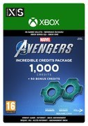 Square Enix Marvel's Avengers Incredible Credits-pack