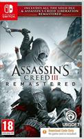 Ubisoft Assassin's Creed III Remastered (Code in a Box)