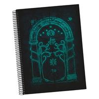 SD Toys Lord of the Rings Notebook Doors of Durin