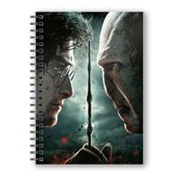 SD Toys Harry Potter Notebook with 3D-Effect Harry Potter vs. Voldemort